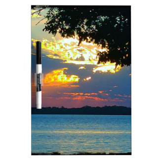 Sunset Ablaze Dry-Erase Board