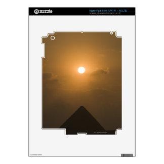 Sunset above The Great Pyramid iPad 3 Skin