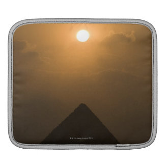 Sunset above The Great Pyramid iPad Sleeve