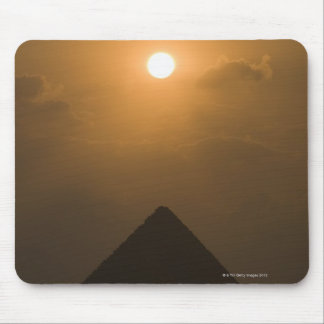 Sunset above The Great Pyramid Mouse Pad
