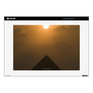 """Sunset above The Great Pyramid Skin For 15"""" Laptop"""