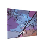 Sunset Abstract Canvas Prints