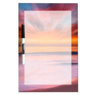 Sunset abstract from Tamarack Beach Dry-Erase Board