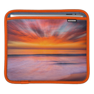 Sunset abstract from Tamarack Beach Sleeve For iPads