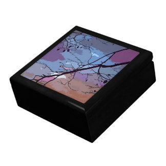 Sunset Abstract Jewelry Box