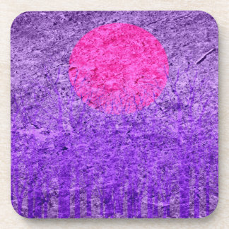 Sunset | Abstract Painting 8 Drink Coaster