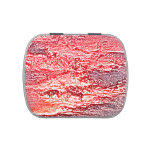 sunset abstract red pink colored background jelly belly candy tins