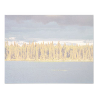 Sunset across Scoter Camp Lake Personalized Invites
