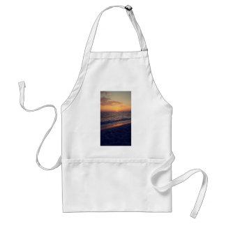 sunset adult apron