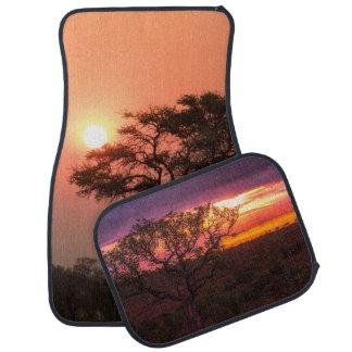 Sunset Africa Tree Personalize Destiny Destiny'S Car Mat
