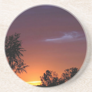 Sunset African Delight Beverage Coasters