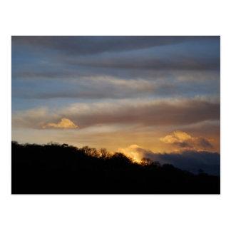 Sunset after a Storm Postcard