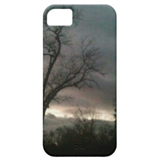Sunset after Hurricane Sandy iPhone 5 Cases
