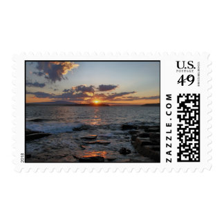 'Sunset After the Storm' Postage