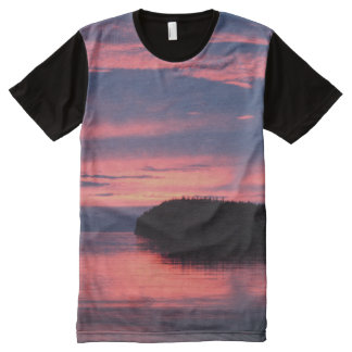 Sunset All-Over-Print T-Shirt