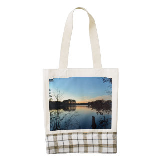Sunset 'Almost Gone' Zazzle HEART Tote Bag