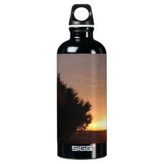 Sunset Aluminum Water Bottle