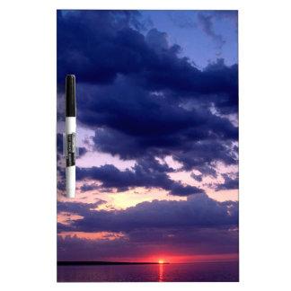 Sunset Amber Grand Island Michigan Dry-Erase Board