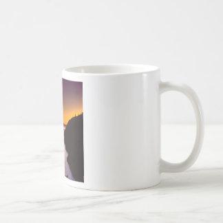 Sunset Anacortes Fidalgo Island Coffee Mugs