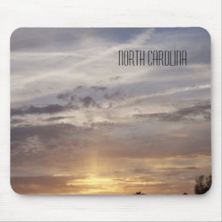 Sunset and Clouds - North Carolina Mouse Pad
