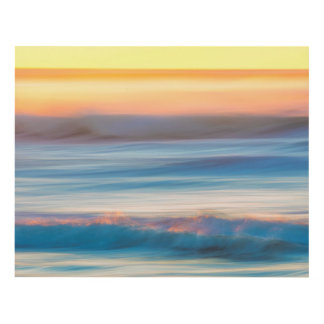 Sunset and Ocean   Cape Disappointment State Park Panel Wall Art
