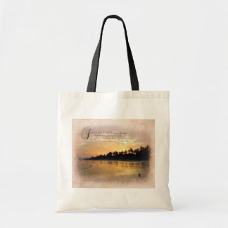 Sunset and Psalms / Tropical Beach Setting Bags