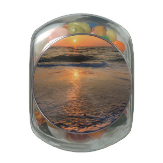 Sunset and Reflections Jelly Belly Candy Jar