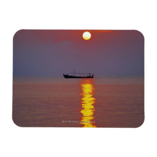 Sunset and Sea 2 Magnet