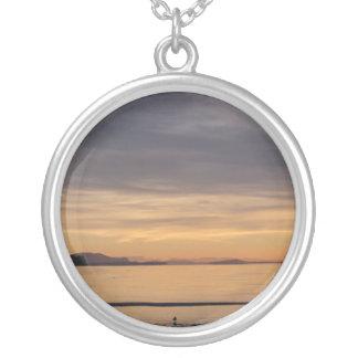 Sunset and Sea Birds Jewelry