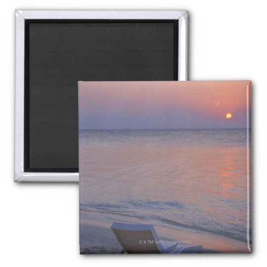 Sunset and Sea Magnet