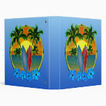 Sunset And Surfboards Binder