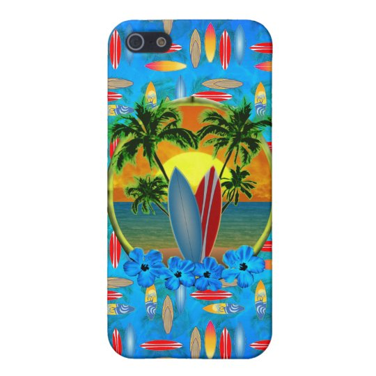 Sunset And Surfboards Case For iPhone SE/5/5s