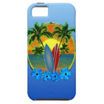Sunset And Surfboards iPhone 5 Case