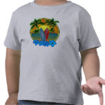 Sunset And Surfboards Shirts