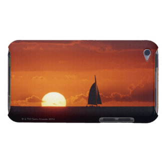 Sunset and Yacht 2 iPod Touch Case-Mate Case