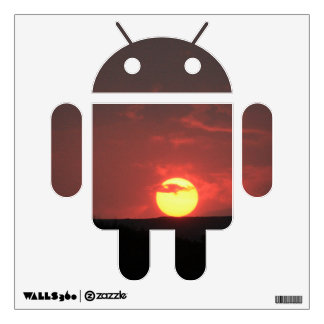 Sunset Android Wall Sticker