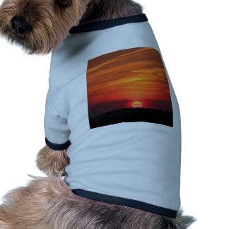 Sunset Apocalypse Doggie Shirt