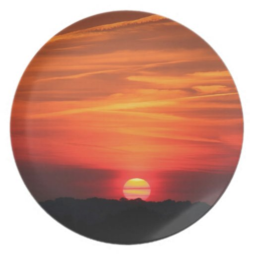 Sunset Apocalypse Plate
