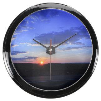 Sunset Aquavista Clocks