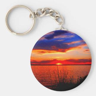 Sunset Art Keychain