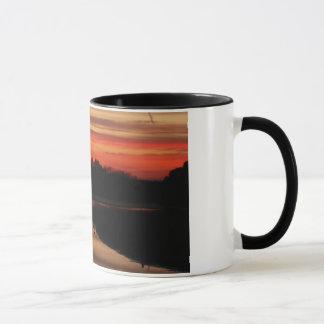 Sunset at Abberton Mug