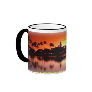 Sunset at Ala Moana Beach Mug
