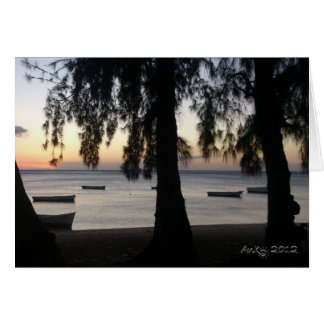 Sunset at Albion Greeting Cards