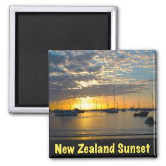 Sunset at Anchorage, Kawau Island, New Zealand Fridge Magnet