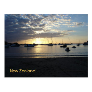 Sunset at Anchorage, Kawau Island, New Zealand Postcard