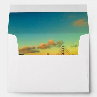 Sunset at Baker Beach Envelope