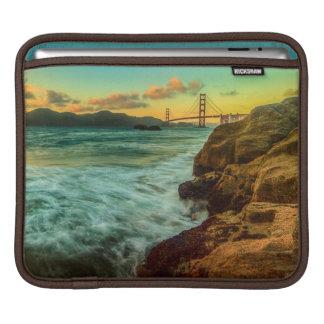 Sunset at Baker Beach iPad Sleeve