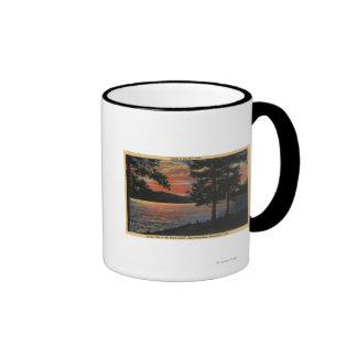 Sunset at Big Bear Lake Mugs