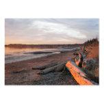 Sunset at Birch Bay Business Card Template