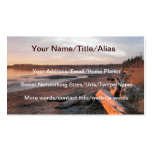 Sunset at Birch Bay Business Card Templates